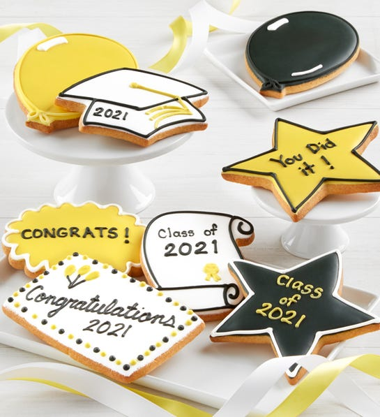 Middle School Graduation Gift Ideas That Sons Will Love - Graduation Cookies